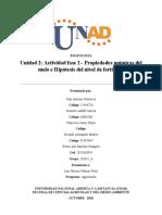 Actividad fase 2 - Propiedades químicas del suelo
