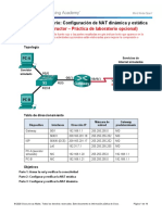 9.2.2.6 Lab - Configuring Dynamic and Static NAT - ILM.docx