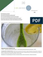 Bicarbonato sódico con limón y sus propiedades para la salud – Libre de lácteos – Alimentación saludable
