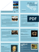 January Public Programs, de Young and Legion