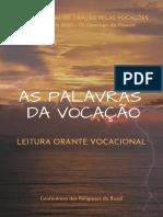Leitura Orante Vocacional - 03 de maio