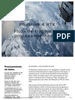 Phantom 4 RTK - Flujo de trabajo de procesamiento PPK