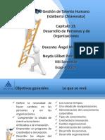 DESARROLLO DE PERSONAS Y DE ORGANIZACIONES