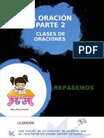 LA ORACIÓN  PARTE 2