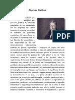 Thomas Malthus ensayo
