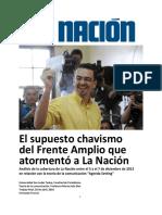 El supuesto chavismo del Frente Amplio que atormentó a La Nación