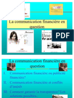 Communication Financiere