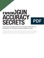 Handgun Accuracy Sample