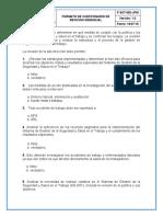 F-SST-052-JPM FORMATO DE CUESTIONARIO DE PRESGUNTAS POR LA ALTA DIRECCION