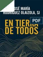 EN TIERRA DE TODOS - José María Rodríguez Olaizola.epub