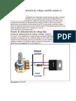 Fuente de alimentación de voltaje variable usando el LM317T.pdf