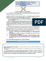 UNIVERSIDAD REGINAL  CONOCIMIENTO CIENTIFICO  CARLOS MORELL.docx