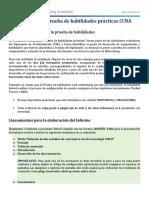 !!!PRUEBA DE HABILIDADES CCNA 2020