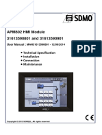 APM802 - User Manual IHM_MAN31613590801_901_EN