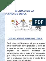 CONTABILIDAD DE LA MANO DE OBRA