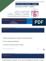 Troubles Contrôle Sphinctérien E-Learning FMPF-USMBA 2020