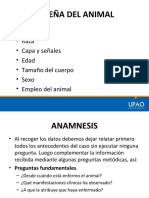 SEMIOLOGIA ANIMAL - RESEÑA DEL ANIMAL