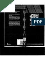 (2)Language Teaching Methodology