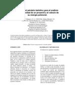 1er informe fusión 2 (Péndulo balístico) Finalizado