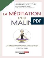 La meditationmalin - Marie-Laurence Cattoire.epub
