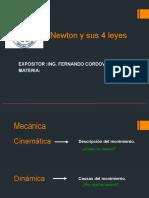 1RA NEWTON Y SUS 4 LEYES DE LA ESTATICA