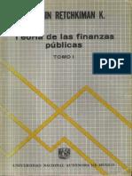 Teoría de las Finanzas Públicas- Benjamín Retchkiman K.