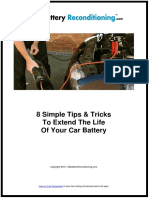 Simple Tips & Tricks to Extend The Battery Life of You Car