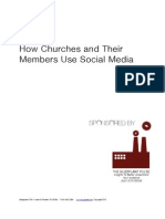 Social Media Marketing for Ministries Survey Results by BuzzPlant