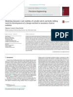 Modeling dynamics and stability of variable pitch and helix milling.pdf