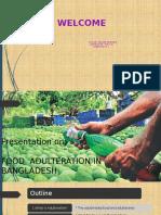 Food adultaration presentation
