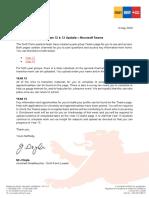 2020-05-06 Years 12 & 13 Update – Microsoft Teams