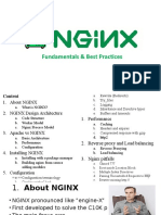 Nginx Fundamentals and Best Practices
