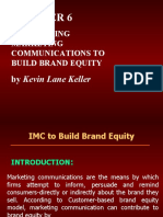 Ch-6, IMC to Brand Equity
