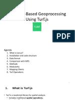 Geoproccessing Using Turf