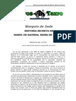 Sade, Marques De - Historia secreta de Isabel de Baviera, Reina de Francia.doc