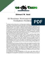 Said, Edward - El Sionismo Norteamericano, El Verdadero Problema.doc