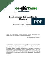 Saiz Cidoncha, Carlos - Los Horrores Del Castillo De Magson.doc