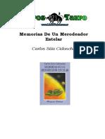 Saiz Cidoncha, Carlos - Memorias De Un Merodeador Estelar.doc