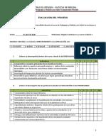 Guía 9. Evaluación del proceso