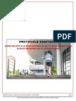Protocole Sanitaire Pour La Reouverture Des Ecoles Maternelles Et Elementaires - MENJ - 3 Mai 2020 1280665