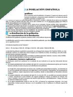 Tema 8 La poblacio española