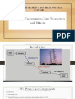 Lecture 4a.Transmission Line Parameters and Effects