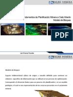 Nube Minera Planificacion Open Pit   06 Modelo de Bloques