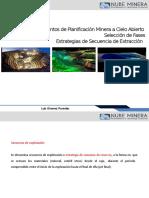 Nube Minera Planificacion Open Pit   10 Fases