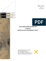 MIMO-OfDM for Wireless LANs White Paper 1.0
