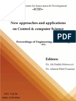 New Approaches and Applications on Control & Computer Science