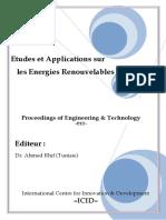 Etudes Et Applications Sur Les Energies Renouvelables