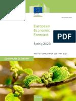 Ευρωπαϊκή Επιτροπή — Εαρινές οικονομικές προβλέψεις 2020