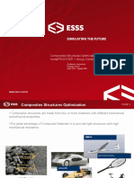 Composites Structural Optimization modeFRONTIER + Ansys Composite Prepost