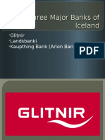 Three Major Banks of Iceland